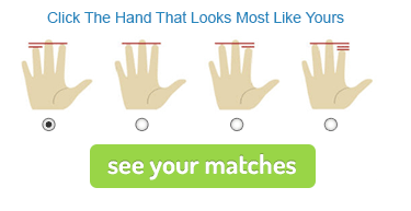 Click the Hand That Looks Most Like Yours to See Your Matches