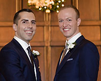Rodney & Matt; photo courtesy of David Castagneto, Dreamscape Photographs